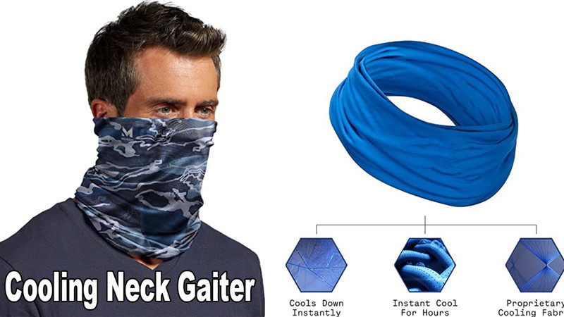 How to customize a cooling neck gaiter for sports teams and outdoor workers in Australia?