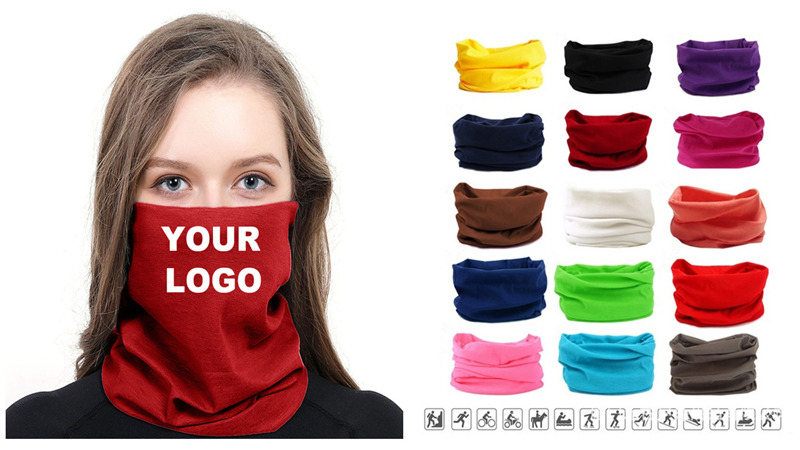 Full guide: How to custom neck gaiters with logo for your business in Europe