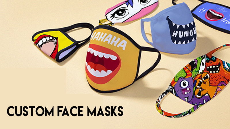 Where to buy printed custom face masks with logos or photos in bulk?