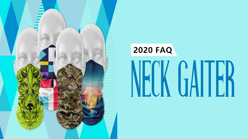 2020 Custom Printed Neck Gaiters FAQ-How to design neck warmer for free?