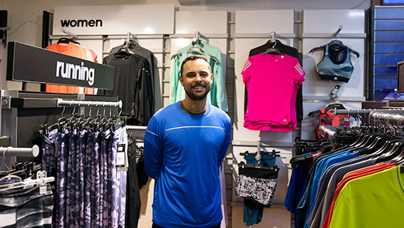 running store owner