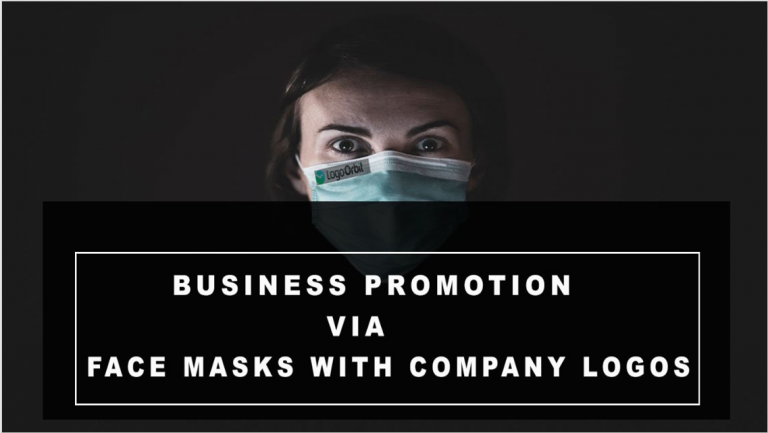 Customized face masks will help small business grow and promote your brand?