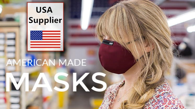Which is the best USA supplier of custom printed cloth face masks?