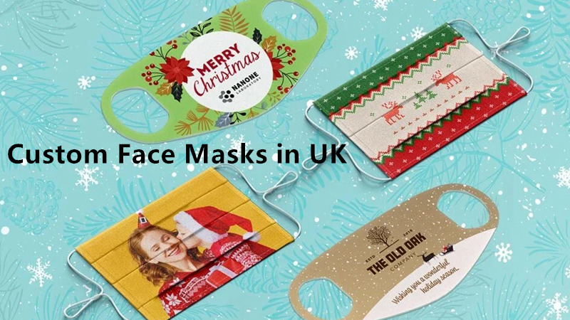 How to custom printed face masks in United Kingdom?