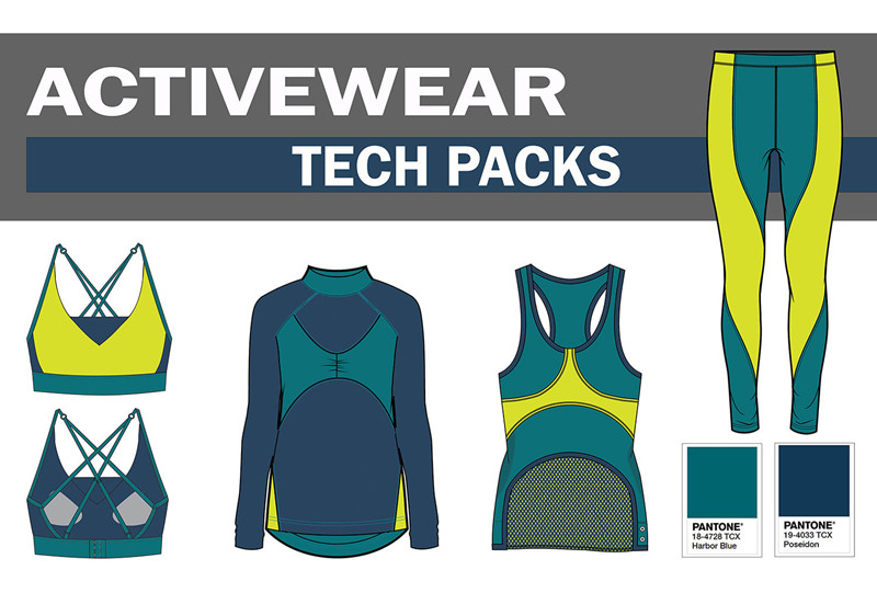 How to DIY Tech Pack for Your Activewear Business Startup