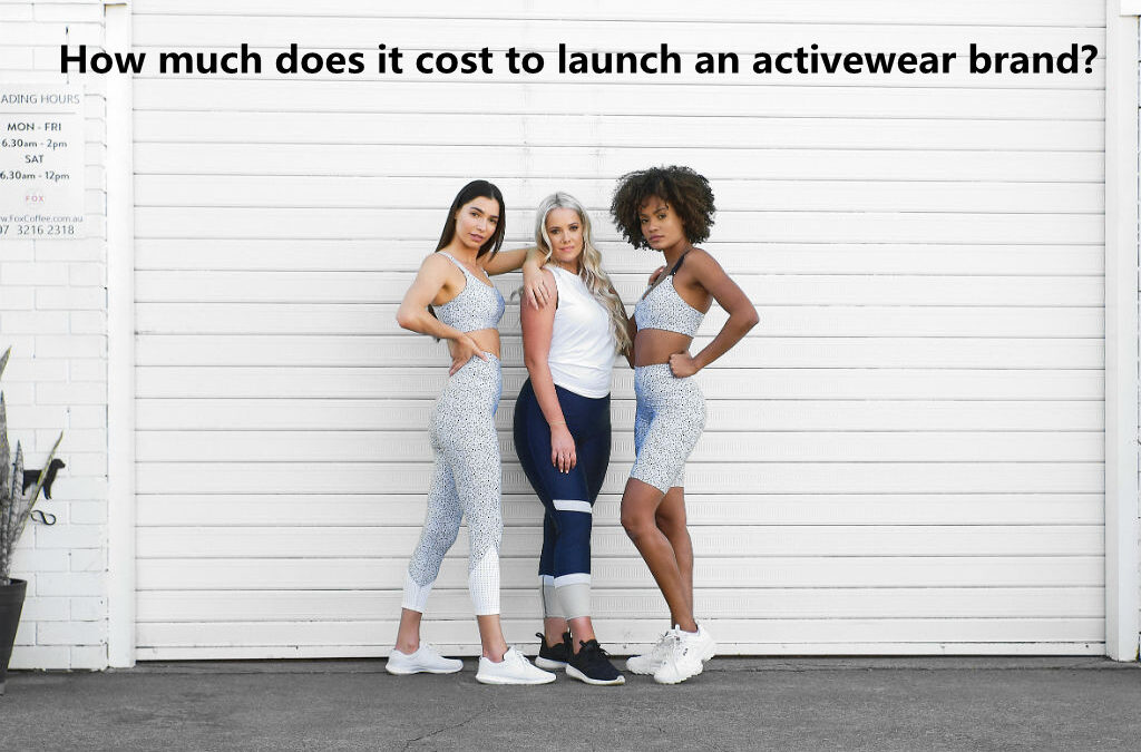 How much does it cost to launch an activewear brand like Gymshark in the UK?