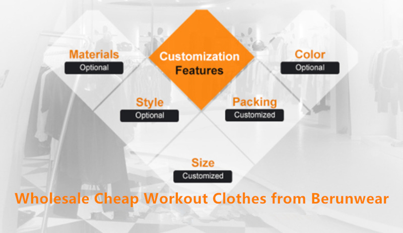 Where to wholesale cheap workout clothes in USA, Canada and Brazil?
