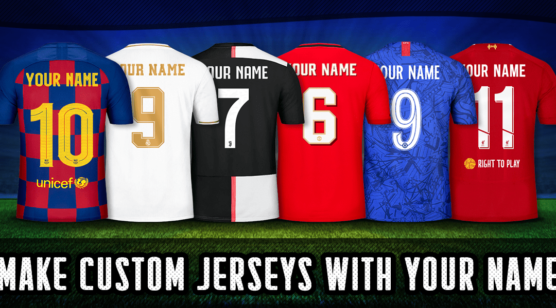 How to Order in Bulk Custom Football Jerseys Online in Japan?